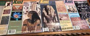 Ancient Egypt Magazine KMT 2004 Set Vol 15 Rare Complete Your Collection