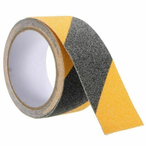 Gelb Schwarz Antirutschband für Innen aussen bereiche Treppen Eingang sicherheit