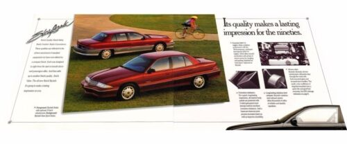 1992 Buick Skylark 10-page Original Car Sales Brochure Catalog