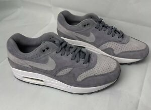 new concept 12df8 7b7a3 Image is loading NIKE-AIR-MAX-1-PREMIUM-COOL-GREY-WOLF-