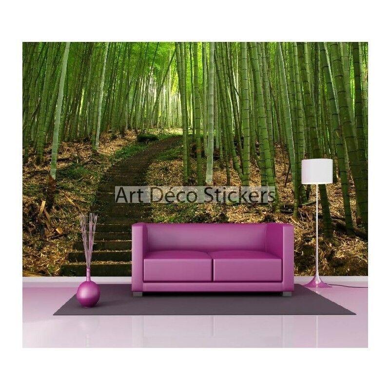 Stickers muraux géant déco : Bambous 1499 | | | à L'aise  | Livraison Immédiate  | Approvisionnement Suffisant  | être Dans L'utilisation  084580
