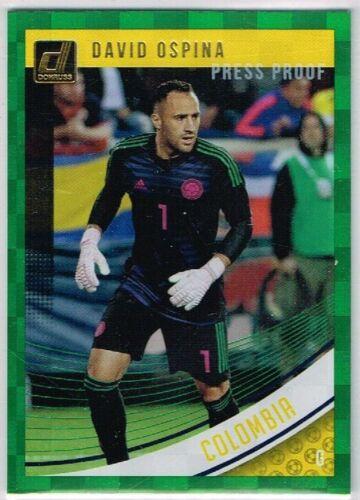 DONRUSS Soccer 2018-2019 ☆ Green Press preuve parallèle ☆ pays cartes #88 à 175