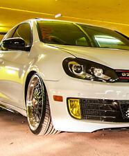 Fendinebbia Pellicola Colorata Giallo Compatibile per VW Golf 6 VI GTI GTD low air