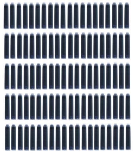 blau 100 Füllerpatronen Farbe Tintenpatronen
