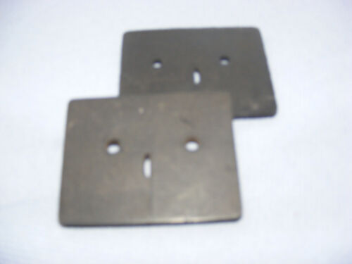 CLASSIC MINI  PAIR OF HAND BRAKE GUIDES GASKETS RUBBER