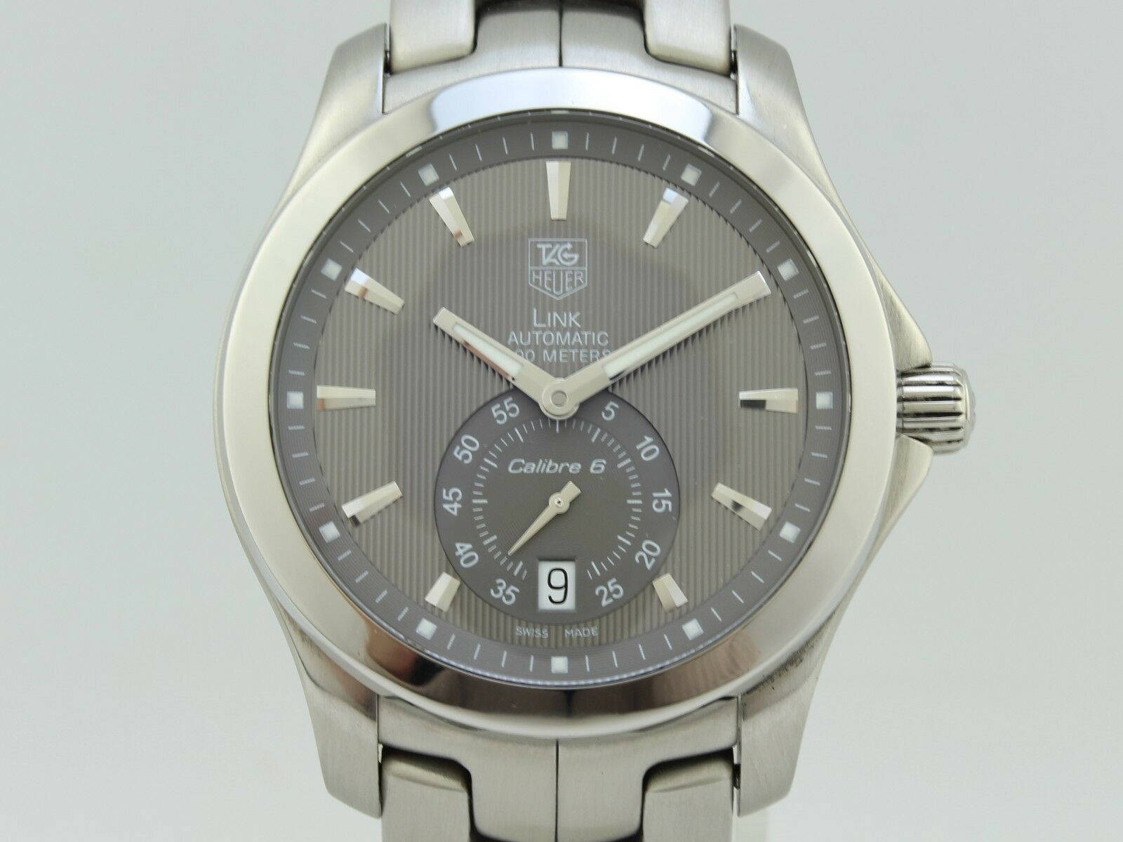 Tag Heuer Link Automatic Steel WJF211G