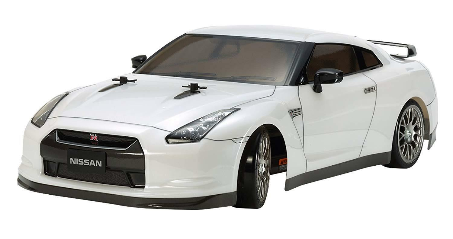 Tamiya 1 10 RC Car Series No.623 Nissan GT-R Drift Spec TT-02D Kit 58623 EMS W T