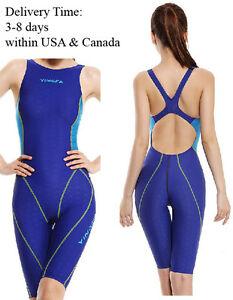 Women-Kneeskin-Swimsuit-one-piece-swimsuit-for-racing-amp-training-Yingfa-953-3