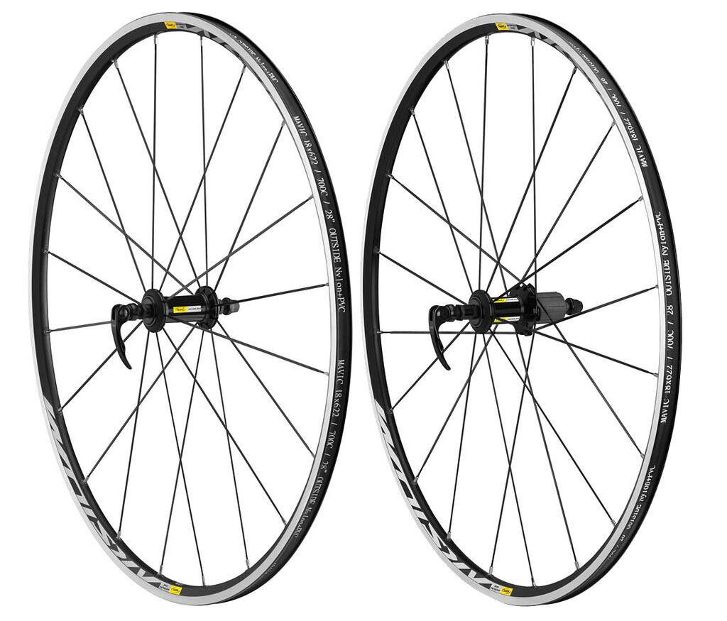 Brand New Mavic Aksium Elite Road Clincher Wheelset 11spd New