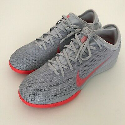 huge selection of 0b87b bc55a NEW Nike VaporX 12 Pro IC Indoor Soccer Cleats Wolf Gray AH7387-060 Mens  Size 6   eBay