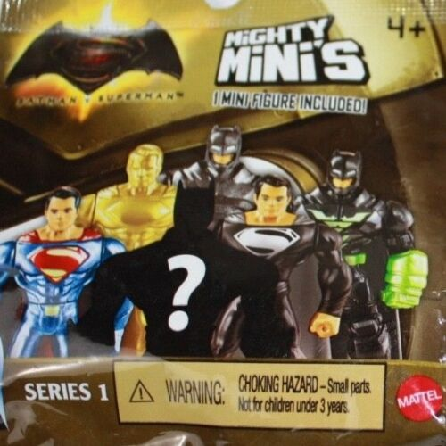 Lot of 10 Batman Superman SERIES 1 Mighty Mini/'s Blind Bag Mini Figure Superhero