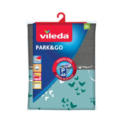 Housse de planche à repasser 130 cm x 45 cm Park and Go Vileda