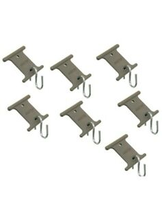 7 pack CAMCO RV awning rail steel hooks party light cord ...