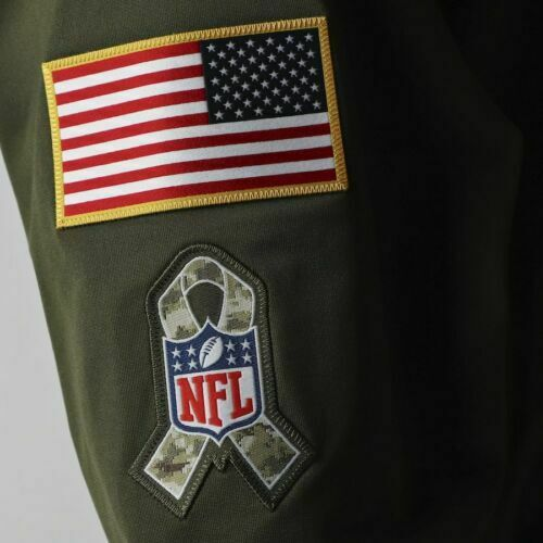 Details about  /2020 Men/'s Los Angeles Rams Sweatshirt Salute Service Sideline Therma Hoodie