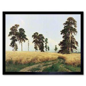 "Leafy Forest By Ivan Shishkin Fine art print NEW 28/"" x 20/"""
