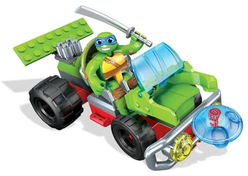 Teenage Mutant Ninja Turtles Half Shell Heroes Leo Turtle Buggy-DMW43-Neuf dans sa boîte