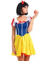 Sexy Snow White Costume Adult Fairytale Ladies Fancy Dress Outfit Princess