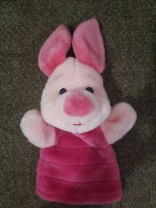 Mattel Winnie The Pooh Piglet Hand Puppet Plush Toy