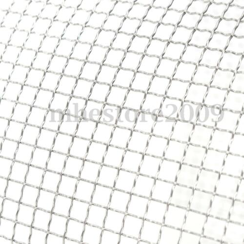 304 Stainless Steel 304 Mesh #4 .047 Wire Square Cloth Screen Filter 6/'/'x 36/'/'
