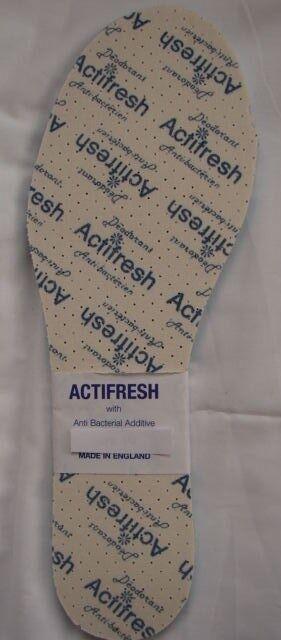 10 Shoe Pairs Adult Actifresh Insoles Latex Foam Shoe 10 Size 8 Anti Bacteria 38896f