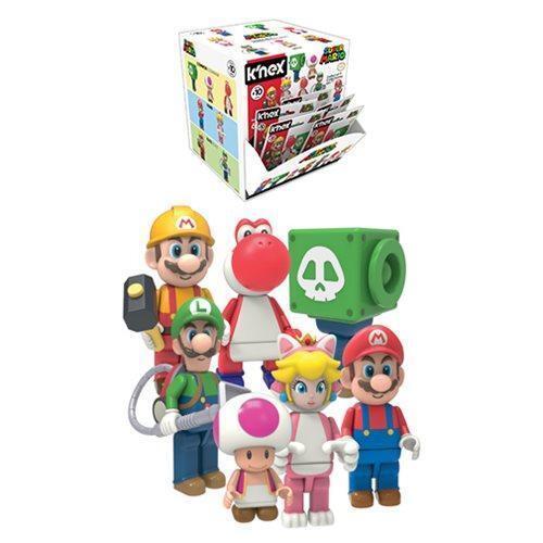 New 1 PACK K/'nex Super Mario Series 10 Mystery Blind Bag Figure Official