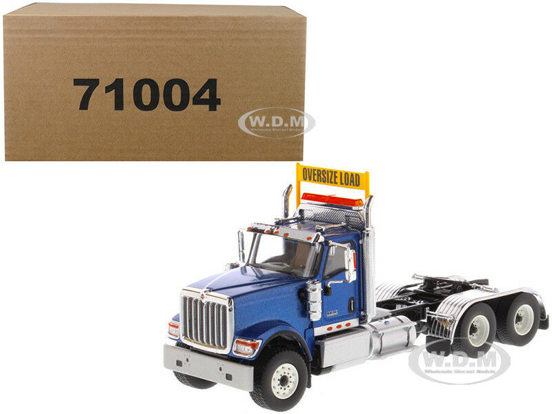 International HX520 Day Cab Tandem Traktor Blau 1 50 von Diecast Masters 71004
