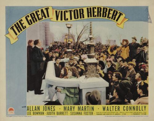 The great victor Herbert Allan Jones 1939 movie poster print