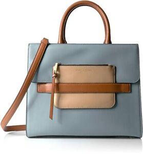 NEW, MARC JACOBS 'MADISON' BLUE SATCHEL BAG, $800