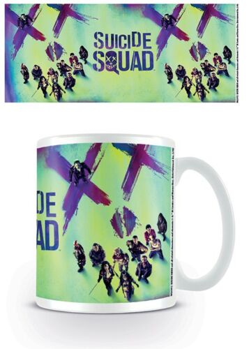 NEW OFFICIAL DC COMICS SUICIDE SQUAD MUG BY PYRAMID MG23972 FACE