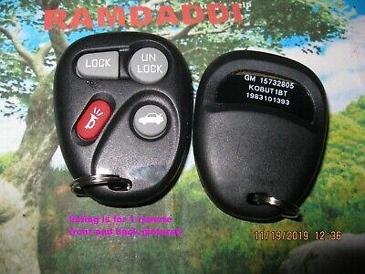 OEM Board GM 15732803 Remote Key Fob Tahoe Silverado Yukon Pickup Avalanche MINT