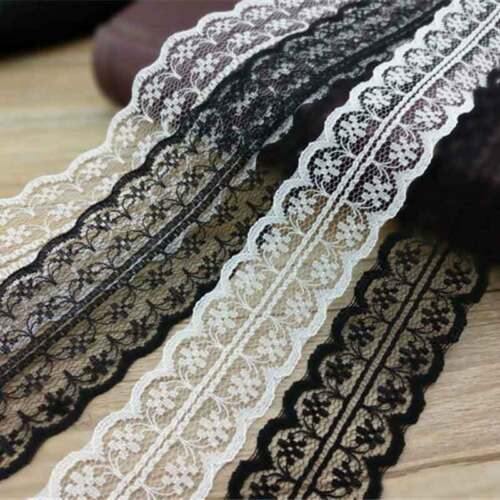 Vintage Style Lace Ribbon Trimming Bridal Wedding Decoration Trim 5.46yard 5m
