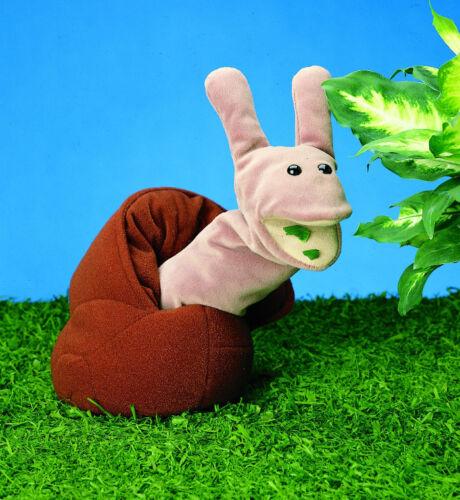 Peluche escargot folkmanis Snail Kasperle poupée ventriloque-Poupée théâtre de marionnettes