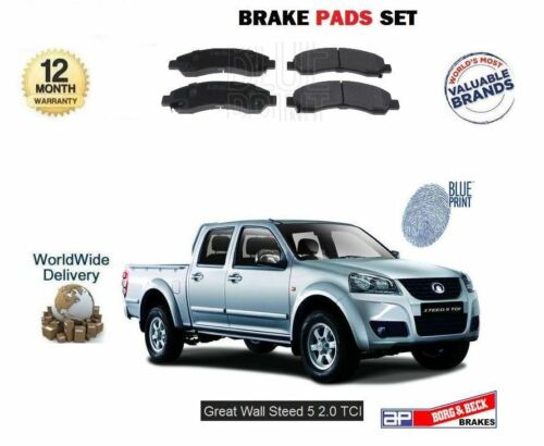 FOR GREAT WALL STEED 5 2.0 DT PICKUP 2012-/>NEW FRONT BRAKE DISC PADS SET