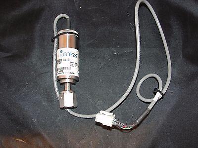 MKS 870B-27500 1500 torr Baratron Pressure Transducer 13-32VDC 0-10VDC