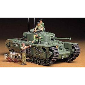 TAMIYA-35210-British-Churchill-VII-Tank-1-35-Military-Model-Kit