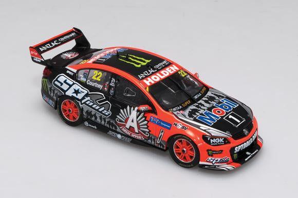 soporte minorista mayorista 1 43 Biante - - - 2015 Holden vf Commodore-HRT-ANZAC librea-Courtney  Venta en línea de descuento de fábrica