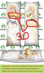 "59/"" Anime Dakimakura To Aru Majutsu no Index Shokuhou Misaki Body Pillow Case M9"