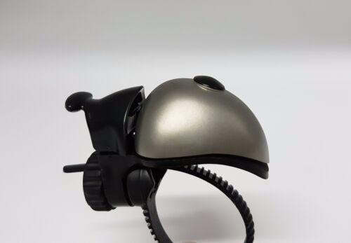 MKS Aero Bell Stainless Steel Bicycle Handlebar Bell 30g