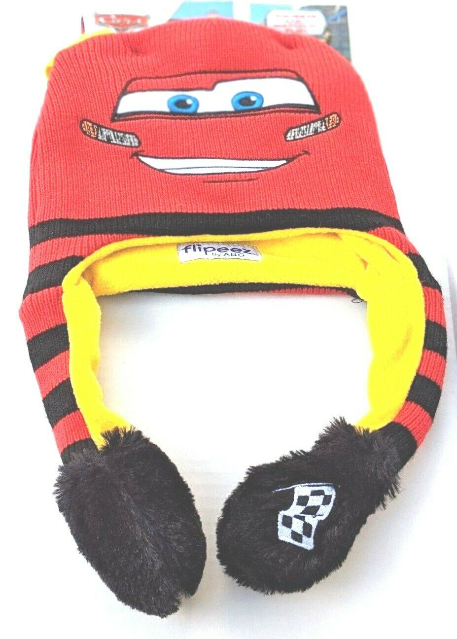 Official Licensed Disney Cars Boys Winter Trapper Hat Age 3-6 years
