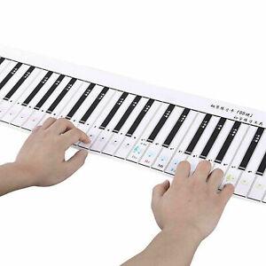Rouleau silicium clavier  de clavier de piano 88 clés