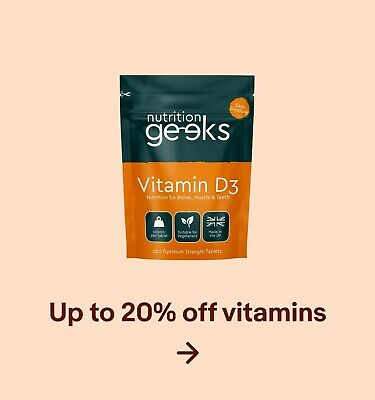 Up to 20% off vitamins