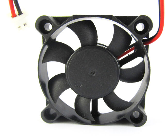 5pcs Brushless DC Cooling Fan 50x50x10mm 5010 7 blades 5V 2pin 2.54 Connector US