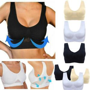 Women-Ladies-Air-Permeable-Bra-Sport-Cooling-Summer-Sport-Yoga-Wireless-Bra-New