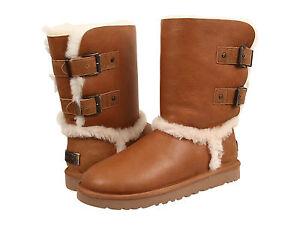 6ca0c5597a1 Women UGG Australia Skylah Boot 1008229 V. Chestnut Leather 100 ...
