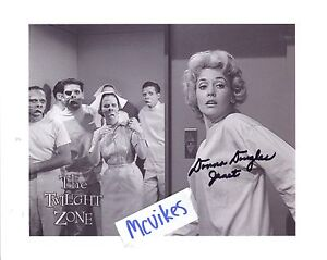 Donna-Douglas-034-The-Twilight-Zone-034-Autographed-8x10-Photo-COA-1-as-034-Janet-Tyler-034