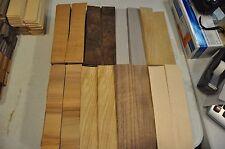 "Fingerboard Wood Veneer-1 1/2"" x 8""   at least 8 kinds, total of approx.180 IC4"