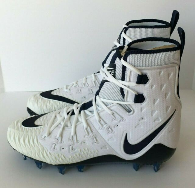 authentic quality factory authentic good quality Mens Nike Force Savage Elite TD High Cleat Sz. 11.5 White/navy ...