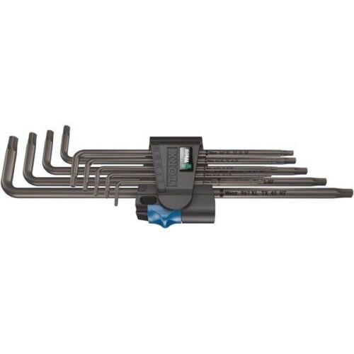 Wera 05024450001 967 TX XL TORX ® HF blacklaser long L-Jeu de clés Tx 8-40 9pc