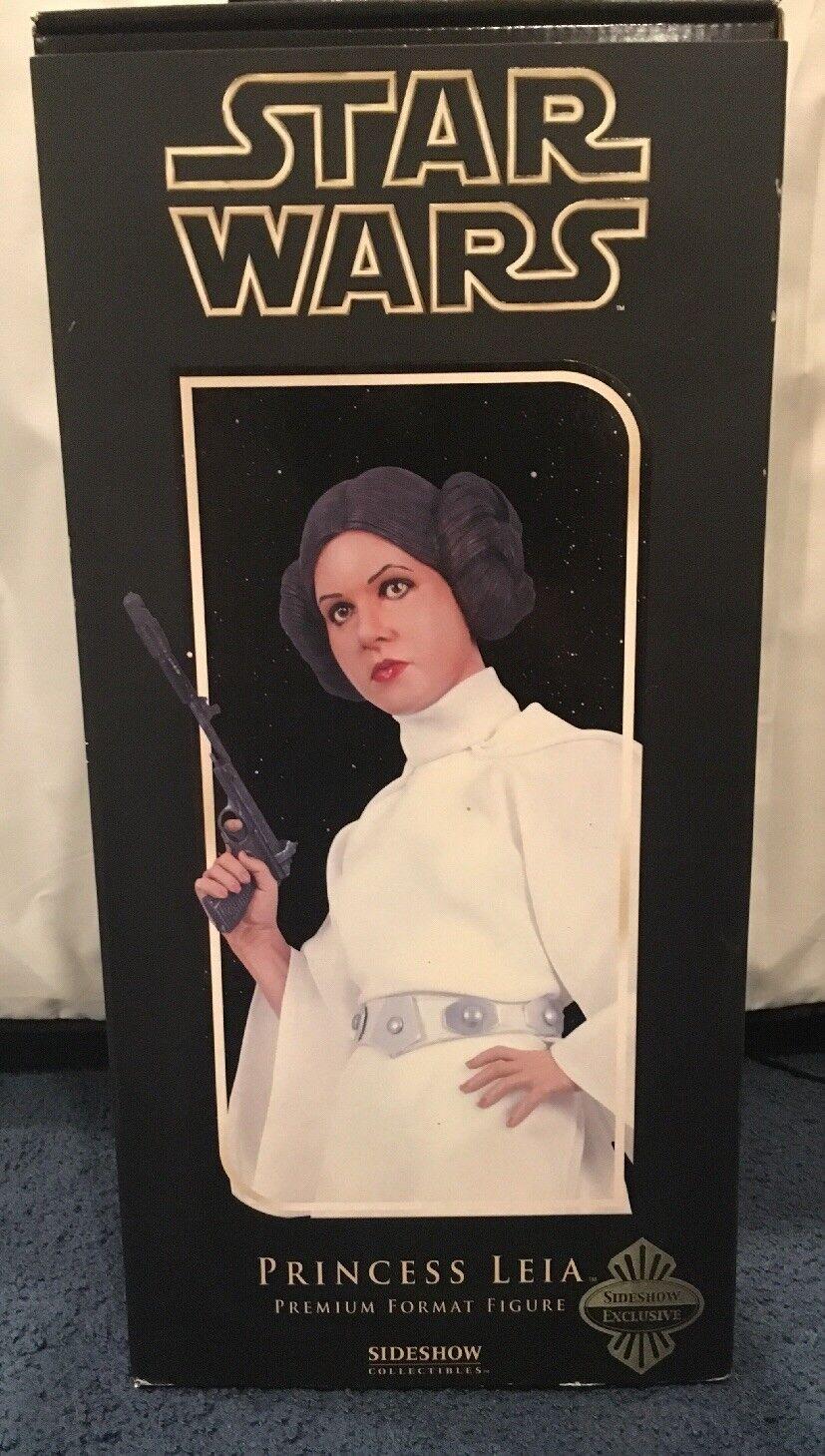 NIB Limited  0680RARE SIDESHOW Star Wars Princess Leia Premium Figure 1:4Statue