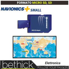 NAVIONICS+ SMALL CARTOGRAFIA MICRO SD - SD NAUTICA PER ECOSCANDAGLIO BARCA VELA